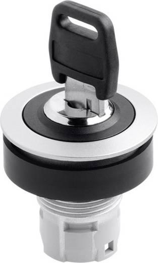 Kulcsos kapcsoló RONTRON R, 1 x 90 °, fém/fekete, Schlegel RRJSSA18