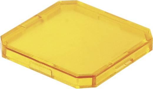 Nyomógomb sapka sárga színű OKTRON, Schlegel TOKJFGB