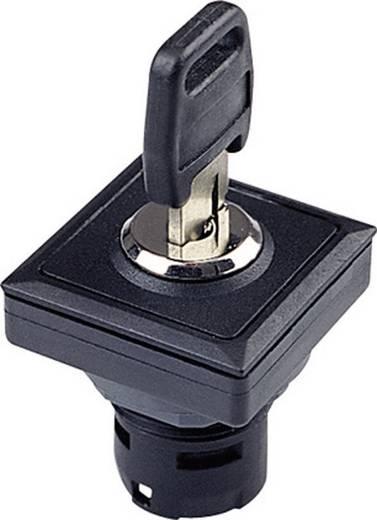 Kulcsos kapcsoló OKTRON 2 x 90 °, fekete, Schlegel OKJSSA18