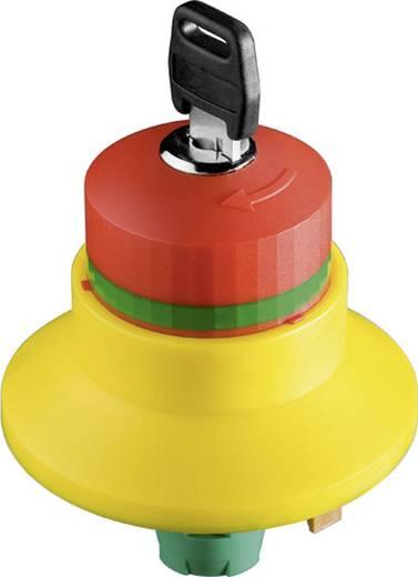 Vészleállító gomb kulcsos reteszeléssel 16 mm, Schlegel RXBLUVSE