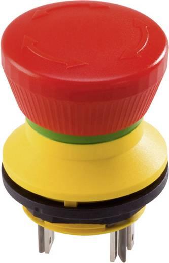 Vészleállító gomb 22 mm, 250 V/AC 2,5 A, 2 nyitó, Schlegel FRVKOO