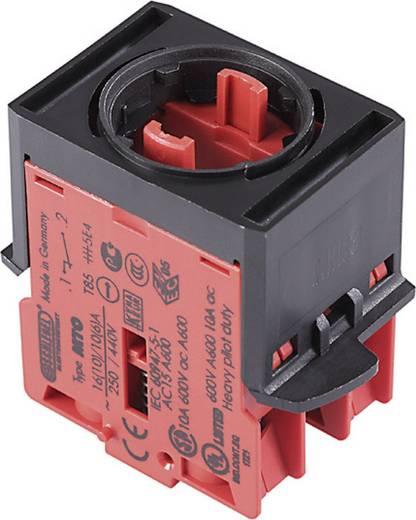 Kapcsoló elem vészleállító gombhoz 250 V/AC 6 A, 2 nyitó, Schlegel MHTOO