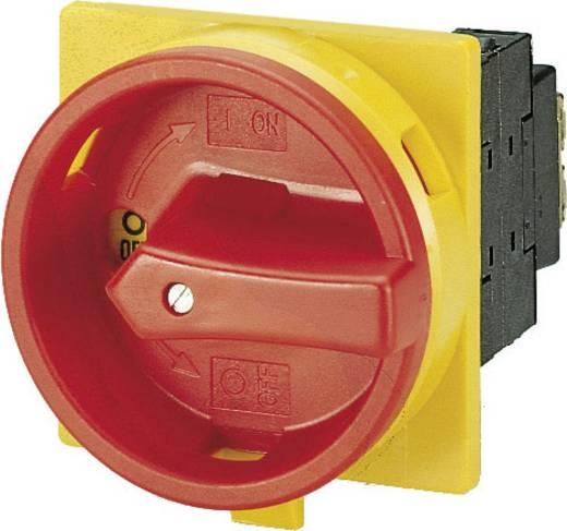 Beépíthető főkapcsoló 100 A 1 x 90 °, sárga/piros, Eaton P3-100/EA/SVB