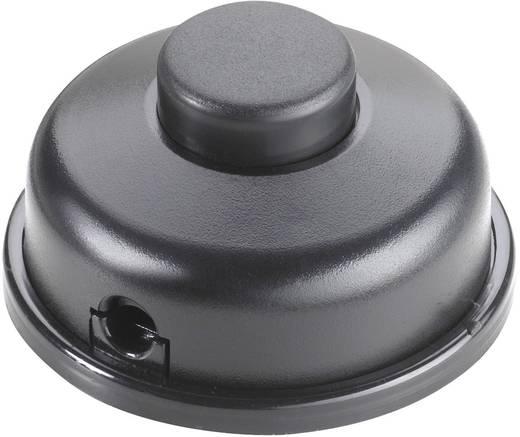interBär 1 pólusú lábkapcsoló, 6 A 250 V/AC, fekete