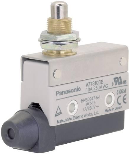 Panasonic Végállás kapcsoló 115 V/DC / 250 V/AC 10 A AZ7 AZ7310CEJ 1 váltó Menetes nyomócsap