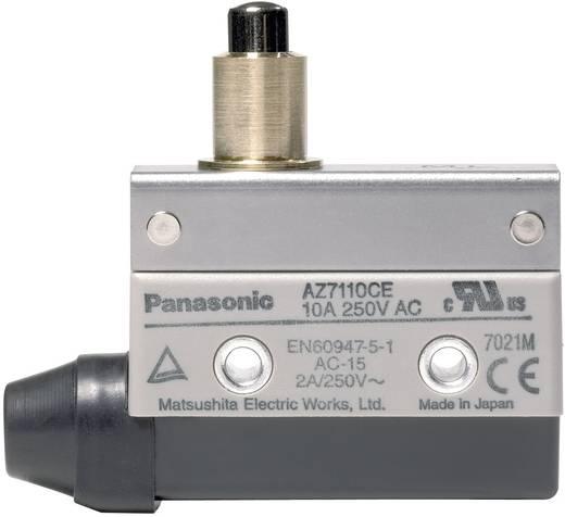 Panasonic Végállás kapcsoló 115 V/DC / 250 V/AC 10 A AZ7 AZ7110CEJ 1 váltó Hosszú nyomócsap