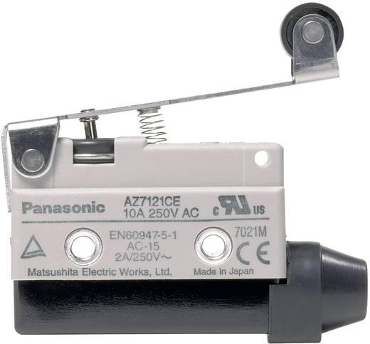 Panasonic Végállás kapcsoló 115 V/DC / 250 V/AC 10 A AZ7 AZ7121CEJ 1 váltó Hosszú lemezkaros görgős