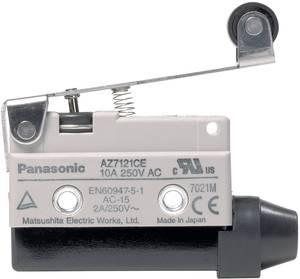 Végálláskapcsoló 115 V/DC, 250 V/AC 10 A Görgős kar Nyomó Panasonic AZ7121CEJ 1 db Panasonic