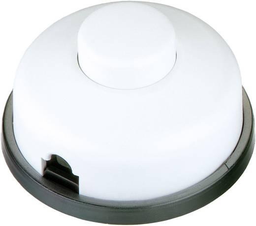 interBär 1 pólusú lábkapcsoló, 6 A 250 V/AC, fehér