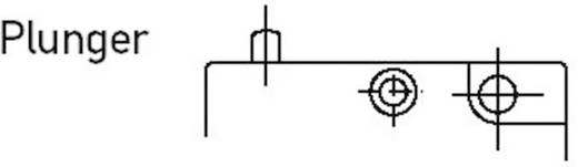 Mikrokapcsoló 250 V/AC 5 A, 1 x be/(be) IP67, Burgess V3SUL