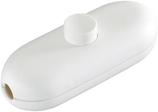 interBär 1 pólusú zsinórkapcsoló, 2 A 250 V/AC, fehér (fehér)