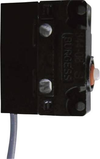 Szubminiatűr mikrokapcsoló 250 V/AC 5 A, 1 váltó, IP67, Saia V4NCSA7-0,5M