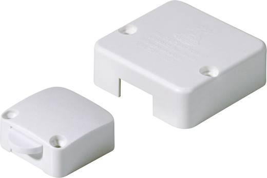 Beépíthető szekrény nyomógomb 250V 1pólusú fehér
