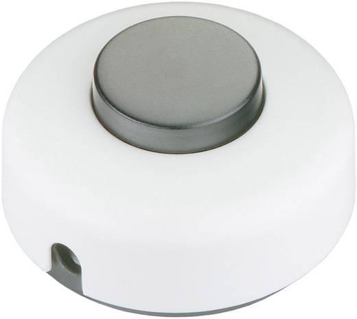 interBär 1 pólusú lábkapcsoló, 2 A 250 V/AC, fekete (fehér)