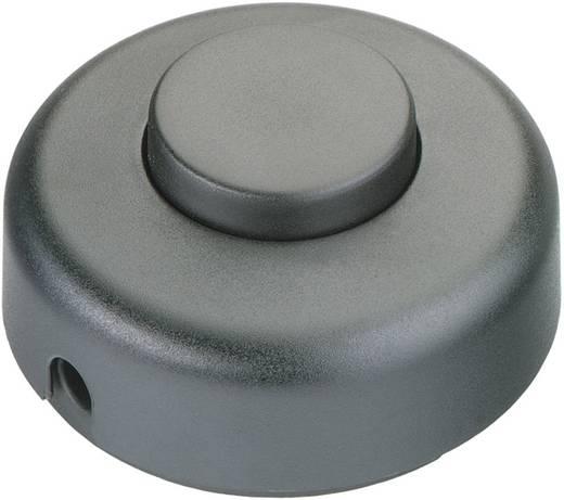 interBär 1 pólusú lábkapcsoló, 2 A 250 V/AC, fekete