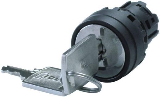 Kulcsos kapcsoló, 3 állású, 45 °, fekete, Idec YW1K-32H