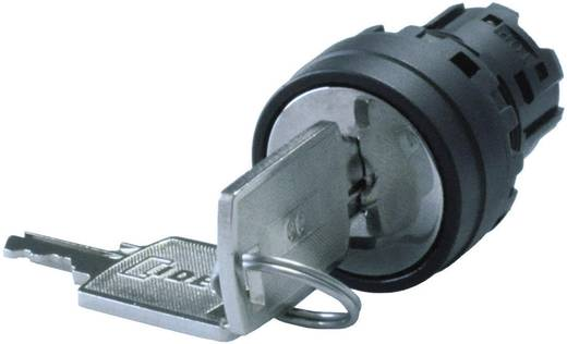 Kulcsos kapcsoló, 3 állású, 45 °, fekete, Idec YW1K-3G