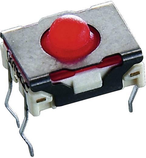 SMD nyomógomb 42 V/DC, 0,1 A, 1 x ki/(be), RAFI MICON 5 1.14.002.006/0000