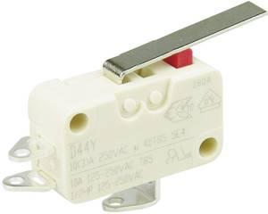 Cherry miniatűr karos mikrokapcsoló, 250V/AC, 1 váltó, forrasztós, D443-S1LD Cherry Switches