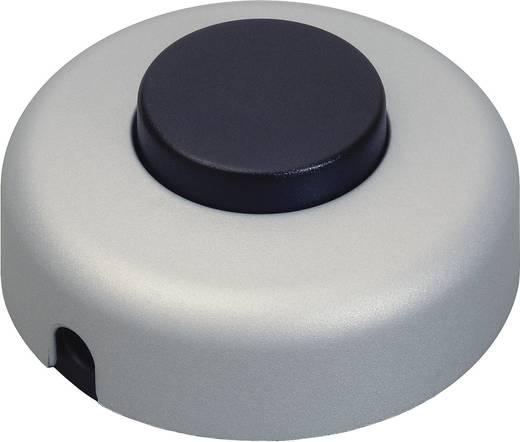 interBär 1 pólusú lábkapcsoló, 2 A 250 V/AC, titán (fekete)
