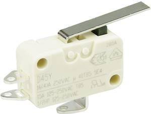 Cherry miniatűr karos mikrokapcsoló, 250V/AC, 1 váltó, forrasztós, D453-S1LD Cherry Switches