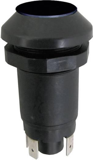 Nyomógomb 48 V/DC/AC 0,5 A, 1 x be/(ki), IP67, fekete, Elobau 145000AA04