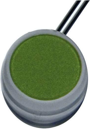 Nyomógomb 48 V/DC 0,3 A, 1 x ki/(be), IP67, zöld, Elobau 145NTG00GN
