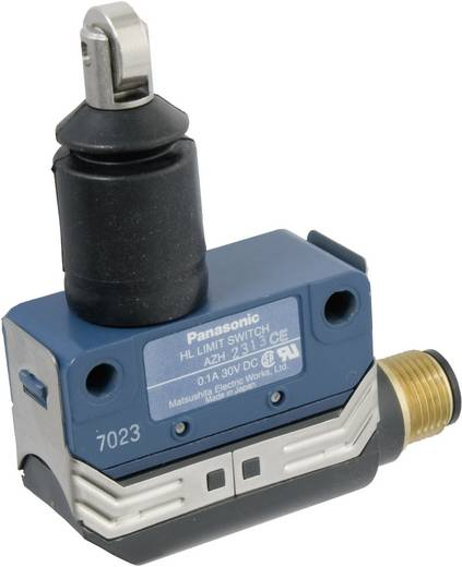 Végálláskapcsoló 125 V/AC 100 mA, IP67, görgős, Panasonic AZH2313CEJ