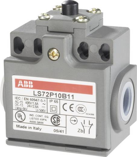 Pozíciókapcsoló 400 V/AC 1,8 A, nyomócsapos, IP65, ABB 1SBV011010R1211