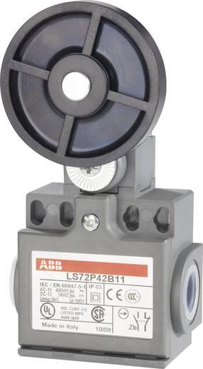 ABB Helyzetkapcsoló 400 V/AC 1,8 A LS72P LS72P42B11 1 záró, 1 nyitó Görgős billenőemelő, gumi