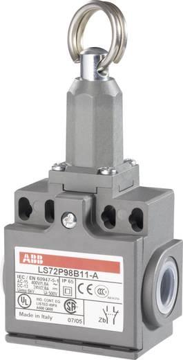 ABB Helyzetkapcsoló 400 V/AC 1,8 A LS72P LS72P98B11-A 1 záró, 1 nyitó Húzáskiváltó gyűrűvel