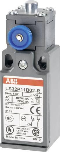 ABB Helyzetkapcsoló 400 V/AC 1,8 A, beakadás funkcióval, LS32P LS32P11B02-R 2 nyitó Nyomócsap