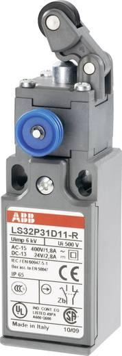 ABB Helyzetkapcsoló 400 V/AC 1,8 A, beakadás funkcióval, LS32P LS32P31D11-R 1 záró, 1 nyitó Görgős kar