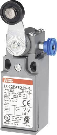 ABB Helyzetkapcsoló 400 V/AC 1,8 A, beakadás funkcióval, LS32P LS32P41D11-R 1 záró, 1 nyitó Görgős billenő kar