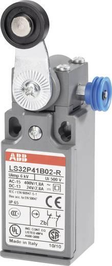 ABB Helyzetkapcsoló 400 V/AC 1,8 A, beakadás funkcióval, LS32P LS32P41B02-R 2 nyitó Görgős billenő kar