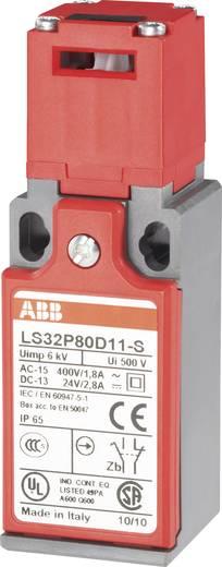 ABB Biztonsági helyzetkapcsoló, 400 V/AC, 1,8 A, LS32P80D11-S 1 záró, 1 nyitó működtető nélkül