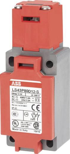 ABB Biztonsági helyzetkapcsoló, 400 V/AC 1,8 A LS43P80D12-S 1 záró, 2 nyitó működtető nélkül
