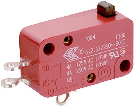 Mikrokapcsoló 250 V/AC 20 A, 1 x be/(be), Marquardt 1005.1004