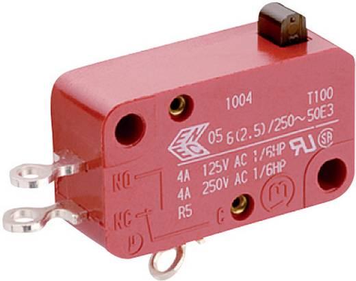 Mikrokapcsoló 250 V/AC 6 A, 1 x be/(be), Marquardt 1004.0402
