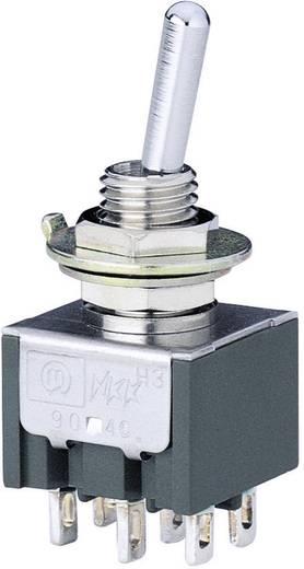 Marquardt Minatűr billenőkapcsolók, 9040-es sorozat 9040.0201 2 x BE/BE Reteszelő/reteszelő 30 V/DC 4 A