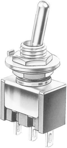 Marquardt Minatűr billenőkapcsolók, 9040-es sorozat 9040.0101 1 x BE/BE Reteszelő/reteszelő 30 V/DC 4 A