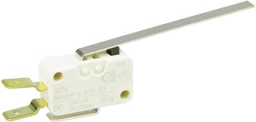 Cherry miniatűr karos mikrokapcsoló, 250V/AC, 1 váltó, csúszósarus, D459-V3LL