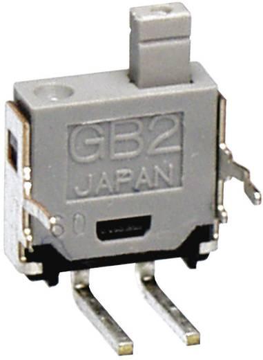 Miniatűr nyomógomb 28 V/DC/AC 0,1 A, NKK Switches GB215AH
