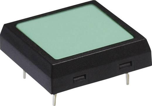 NKK Switches Lapos kapcsoló, Működtető kerek, kék 24 V/DC 50 mA NKK Switches JF15CP2G