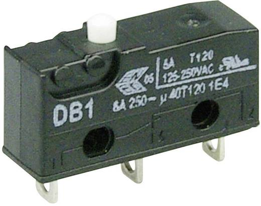 Cherry szubminiatűr mikrokapcsoló, 250V/AC, 1 váltó, forrasztós, DB1C-A1AA