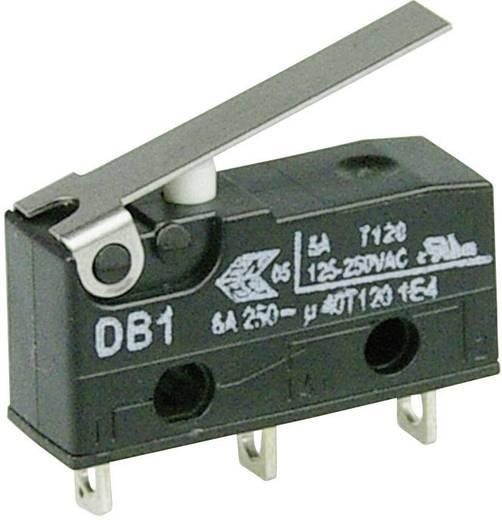 Cherry szubminiatűr mikrokapcsoló, 250V/AC, 1 váltó, forrasztós, DB1C-A1LB