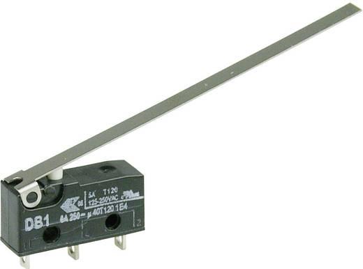 Cherry szubminiatűr mikrokapcsoló, 250V/AC, 1 váltó, forrasztós, DB1C-A1LD