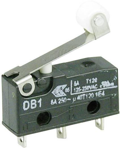 Cherry szubminiatűr mikrokapcsoló, 250V/AC, 1 váltó, forrasztós, DB1C-A1RB
