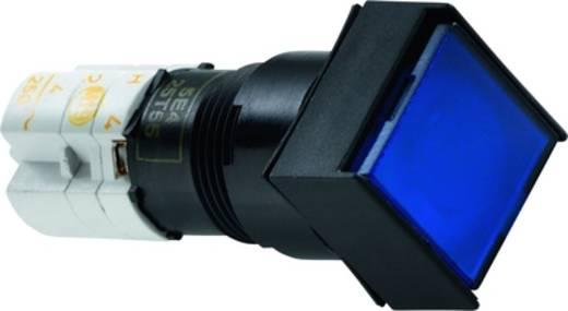 RAFI világító nyomógomb, LUMOTAST 75 1.15.108.376/0000 Lapos blende 250 V 4 A 5 db/csomag