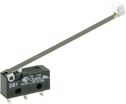 Cherry szubminiatűr mikrokapcsoló, 250V/AC, 1 váltó, forrasztós, DB1C-A1RD